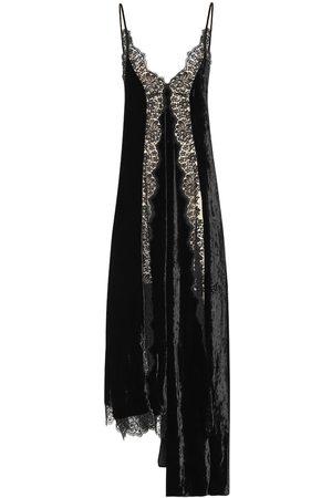 Stella McCartney Women Dresses - Lace and velvet dress