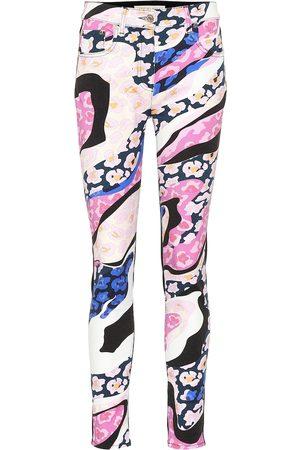 Emilio Pucci Printed skinny jeans