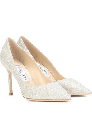 Jimmy choo Women Heels - Romy 85 glitter pumps