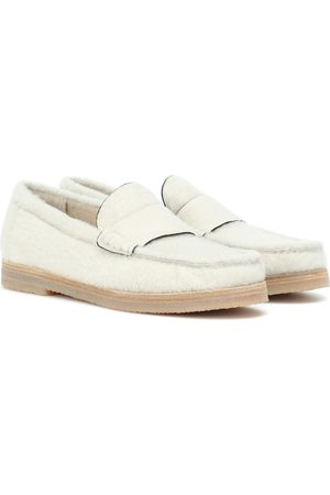 Stuart Weitzman Women Loafers - Bromley shearling loafers