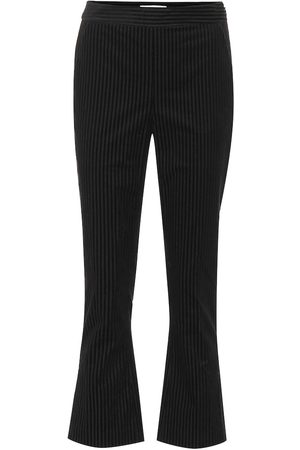 Frame Slit cropped corduroy pants