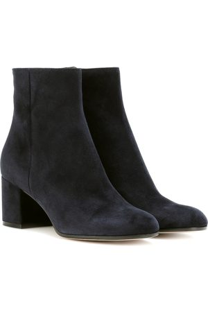 Gianvito Rossi Women Ankle Boots - Margaux Mid suede ankle boots