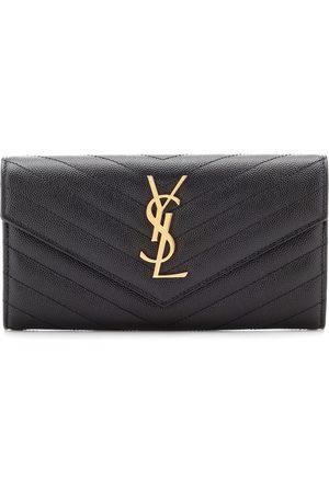 Saint Laurent Monogram Large leather wallet
