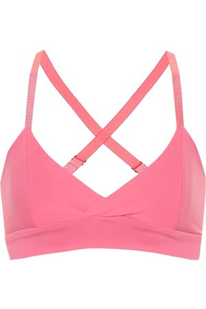 LIVE THE PROCESS V stretch sports bra