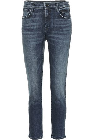 J Brand Women High Waisted - Ruby cropped high-rise skinny jeans