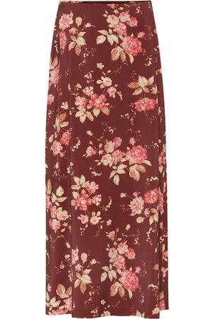 ZIMMERMANN Unbridled Contour printed skirt