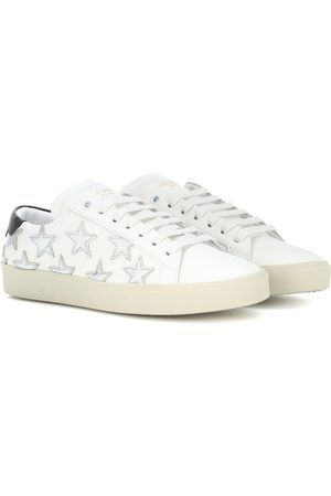 Saint Laurent Women Shoes - SL/06 Court Classic leather sneakers