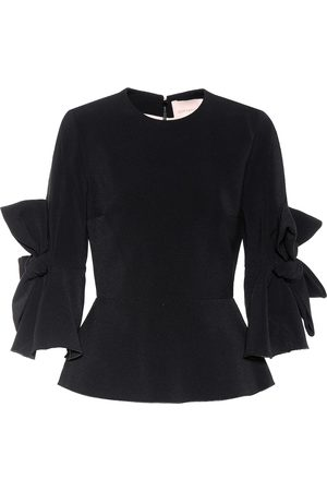 Roksanda Women Shirts - Kemi cady-crêpe top