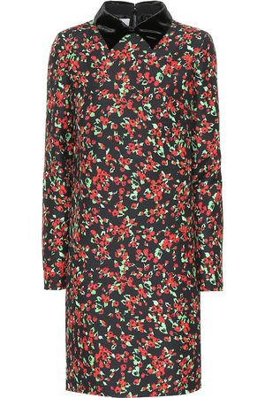 Valentino Silk and wool floral dress