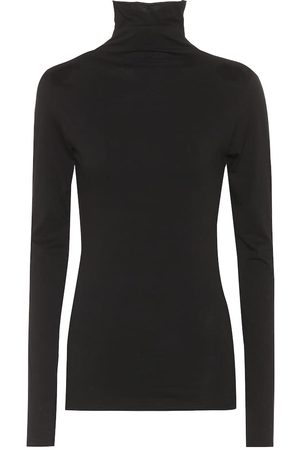 Velvet Talisia cotton turtleneck top