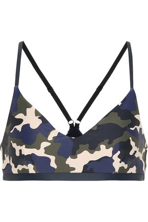 The Upside French Camo Zoe sports bra