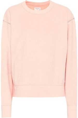 RAG&BONE Women Sweatshirts - Cotton-blend terry sweatshirt
