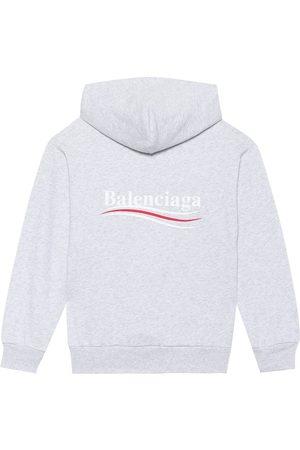 Balenciaga Kids' cotton-blend hoodie