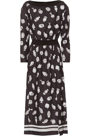 Altuzarra Paola printed midi dress