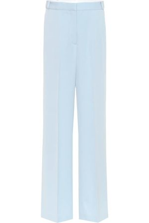 Stella McCartney Women Wide Leg Pants - Wool wide-leg pants
