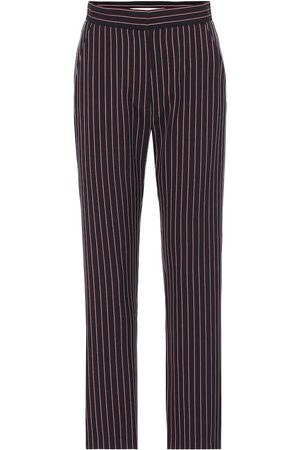 Chloé Striped cropped pants