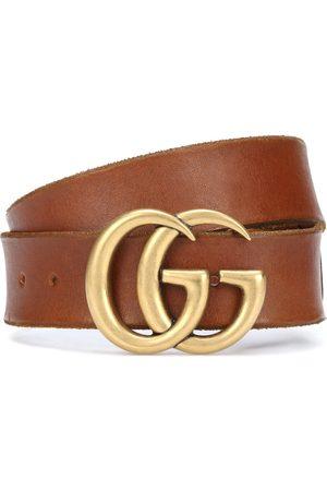 Gucci Women Belts - GG leather belt