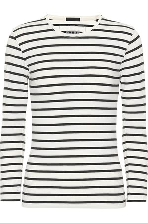 ATM Anthony Thomas Melillo Striped cotton T-shirt