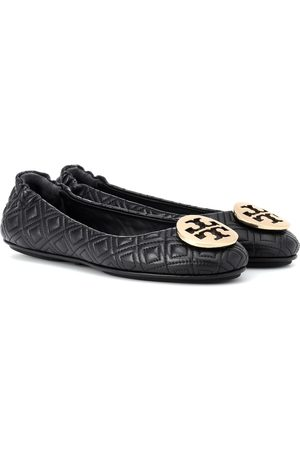 Tory Burch Minnie quilted leather ballet flats