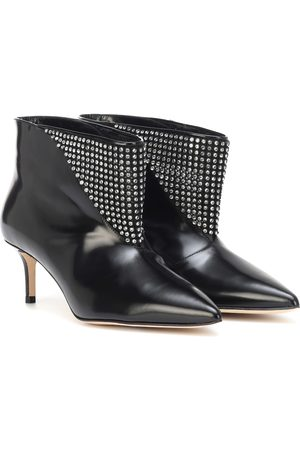 Christopher Kane Women Ankle Boots - Embellished leather ankle boots
