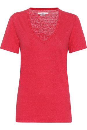 Isabel Marant, Étoile Kranger linen T-shirt
