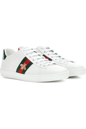 Gucci Women Sneakers - Ace leather sneakers