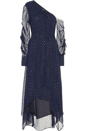 JONATHAN SIMKHAI Asymmetric chiffon dress