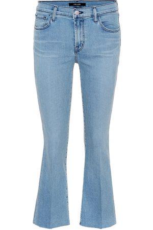 J Brand Selena mid-rise bootcut jeans