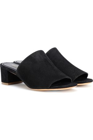 Mansur Gavriel 40mm suede sandals