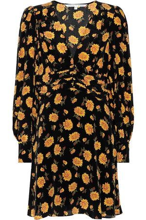 VERONICA BEARD Women Printed Dresses - Marion printed silk minidress