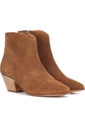 Isabel Marant Women Ankle Boots - Dacken suede ankle boots