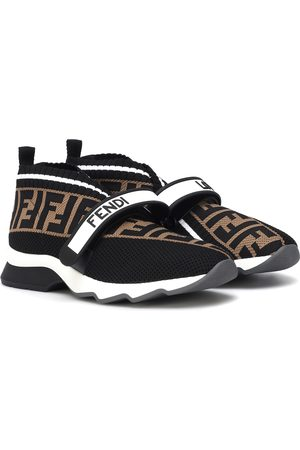 Fendi Women Sneakers - Rockoko knit sneakers