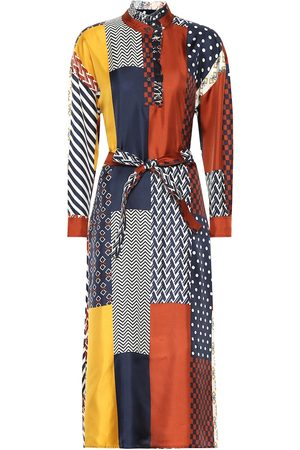 Tory Burch Bianca silk shirt dress
