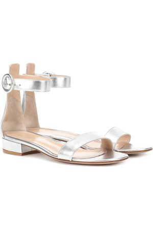 Gianvito Rossi Exclusive to mytheresa.com – Portofino 20 leather sandals