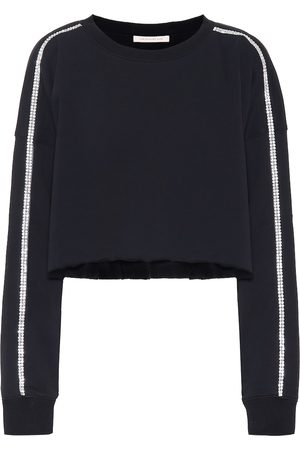 Christopher Kane Embellished jersey sweatshirt