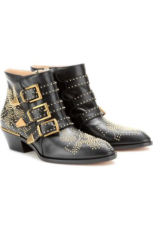 Chloé Women Ankle Boots - Susanna studded leather ankle boots