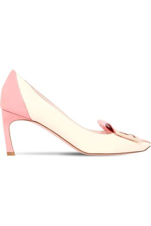Roger Vivier Women Heels - 70mm Trompette Tongue Patent Pumps