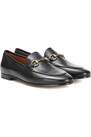 Gucci Women Loafers - Jordaan leather loafers