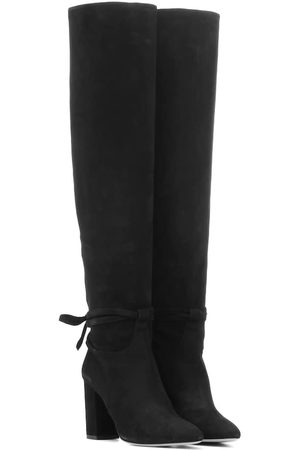 Aquazzura Women Boots - Milano 85 suede boots