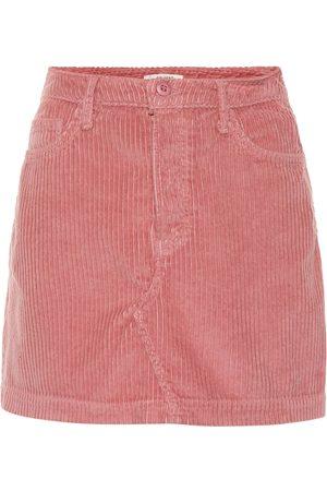 GRLFRND Zamira corduroy miniskirt