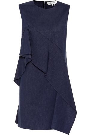 Diane von Furstenberg Linen-blend dress
