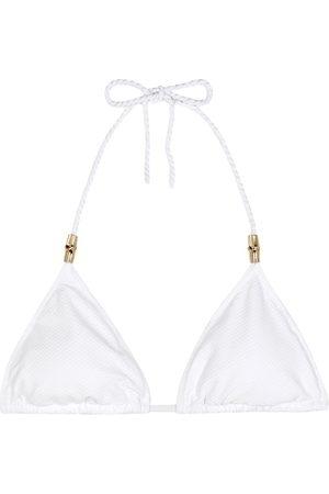 Heidi Klein Core Triangle bikini top