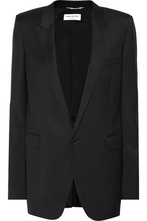 Saint Laurent Women Blazers - Virgin wool blazer