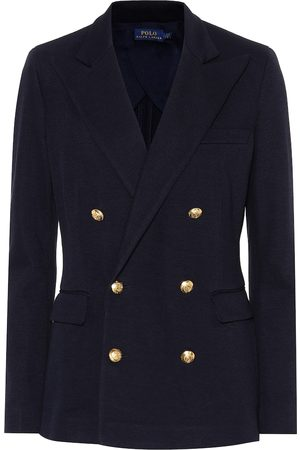 Ralph Lauren Knit double-breasted blazer