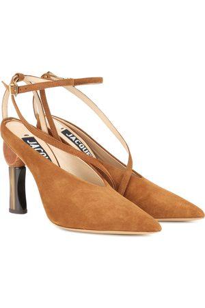 Jacquemus Les Chaussures Faya suede pumps