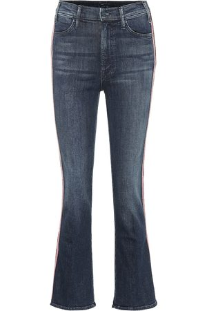 Mother Hustler high-rise flared jeans