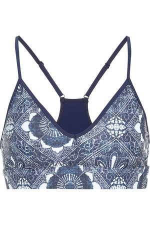 The Upside Andie printed sports bra
