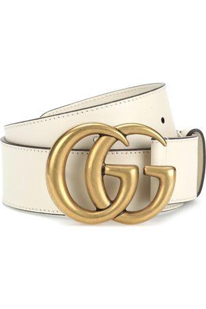 Gucci GG leather belt