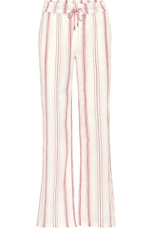 Melissa Odabash Krissy straight cotton pants