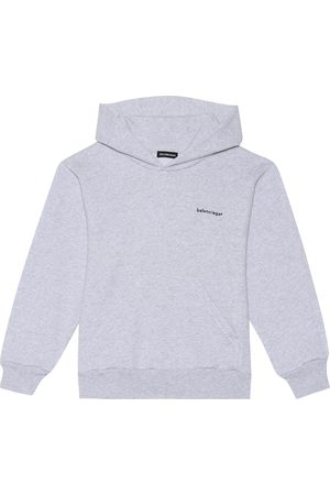 Balenciaga Hoodies - Cotton-blend hoodie